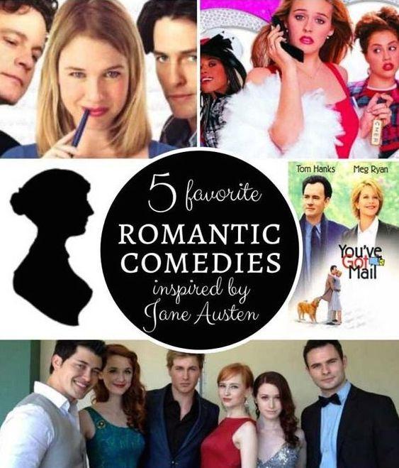 5 favorite Jane Austen-inspired romantic comedies.