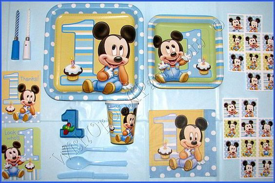 mickey mouse first birthday - Bing Images