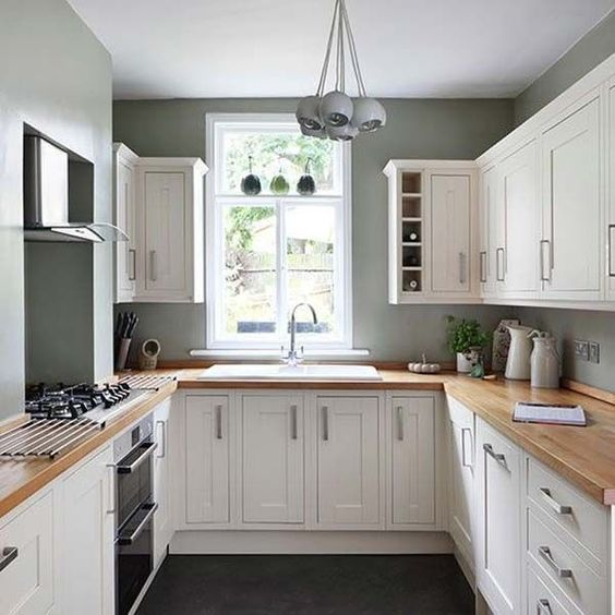 19 Practical U Shaped Kitchen Designs For Small Spaces Pinterest Beautiful U Shape Kitchen