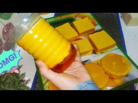الصابون فصل منك وباظ هنرجعه صابون صلب وهنستخدمه علي طول Youtube Food Fruit Mango