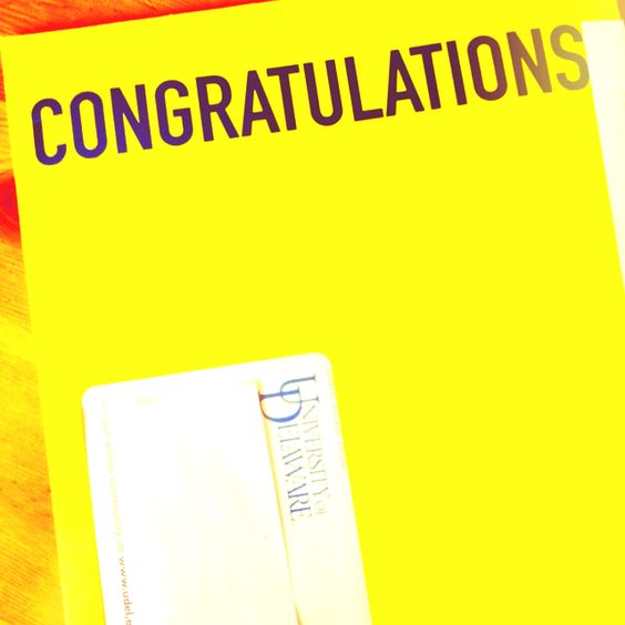 UD acceptance letter! Admissions Office Pinterest Acceptance - college acceptance letters