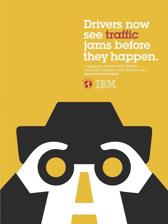 Infographic Ideas infographic illustrators needed me rihanna : Negative space art / design / illustrations / ads - IBM: Smarter ...