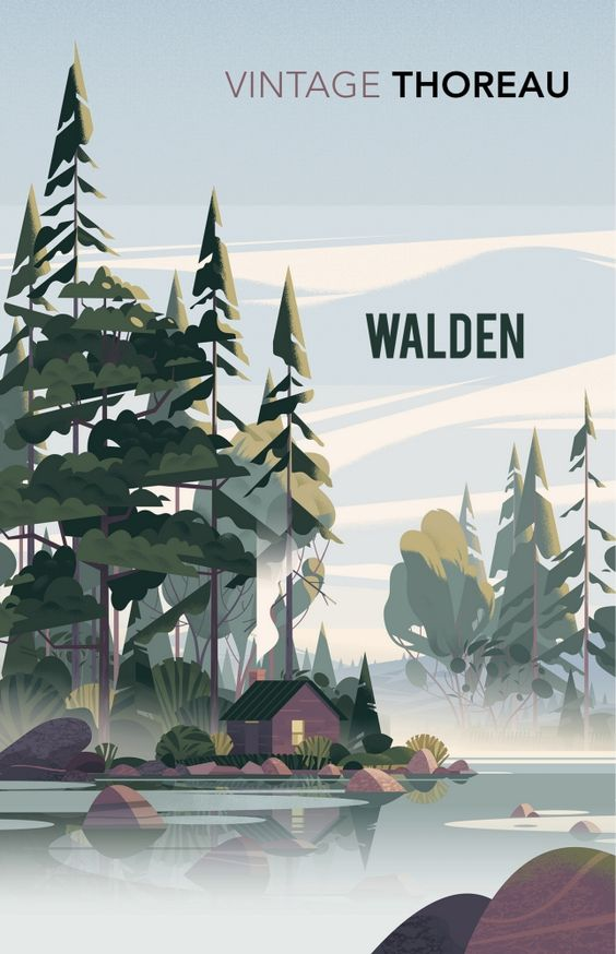 Being alone. Walden by Henry David Thoreau.