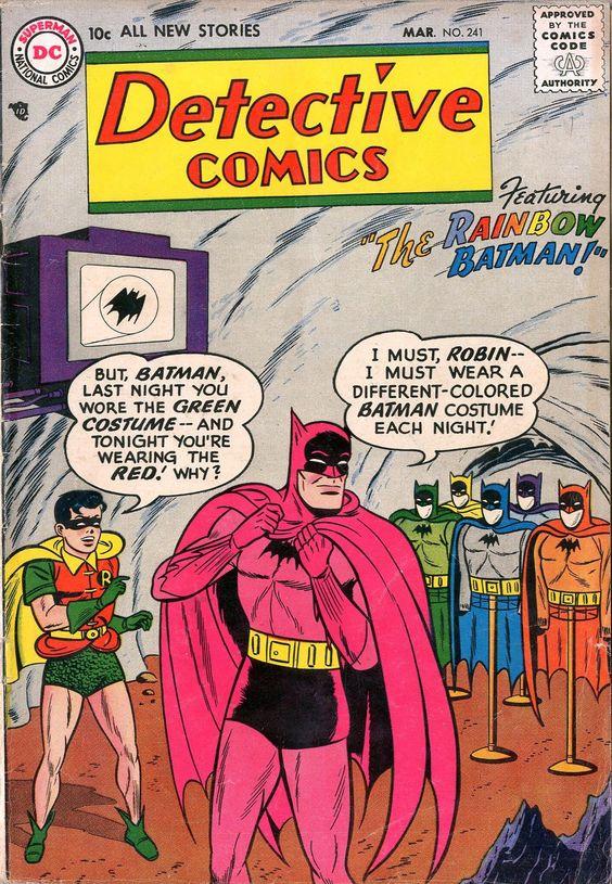 Rainbow Batman Actionfigures