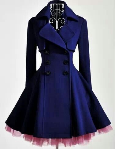 Beautiful Gothic Coat