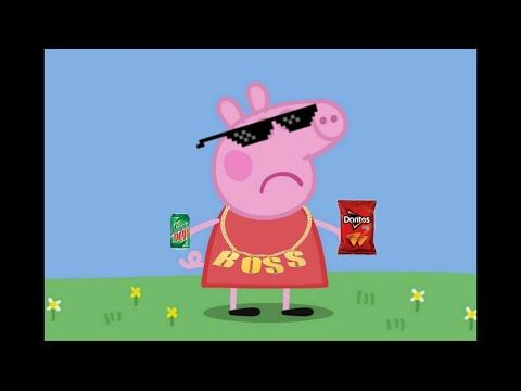 Peppa Pig Becomes A Ganster Peppa Pig Edit Youtube Peppa Pig Memes Peppa Pig Wallpaper Peppa Pig Funny