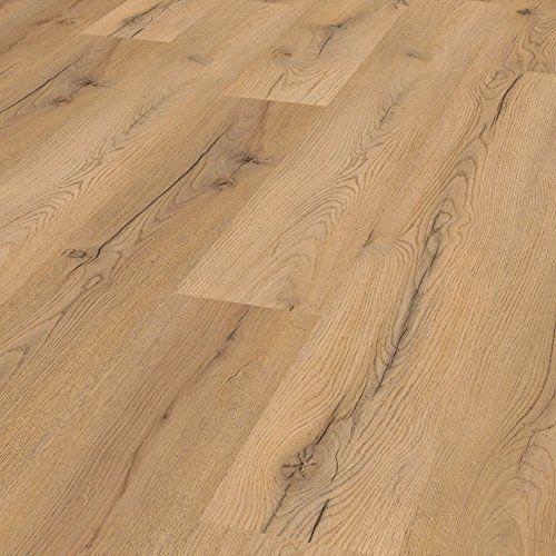 [neu.holz] Vinyl Laminat (1m²) Selbstklebend Eiche   Grau (7 Dekor Dielen U003d  0,975 Qm) Design Bodenbelag / Gefühlsecht / Strukturiert | Heimwerker ...