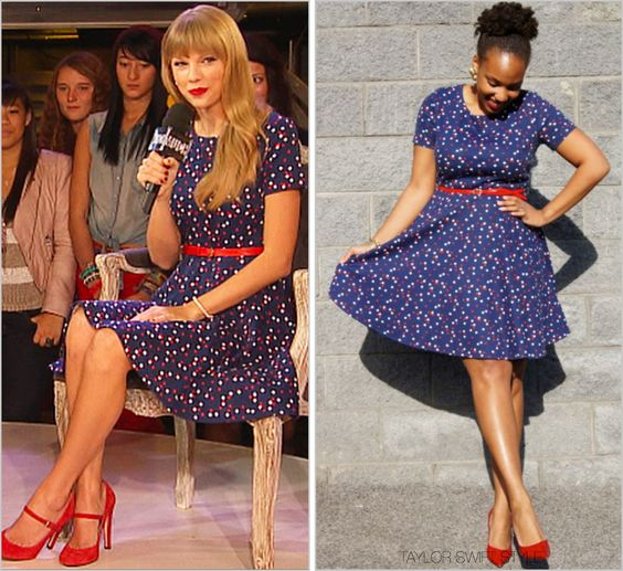 HM 'Polka Dot Dress' - no longer available