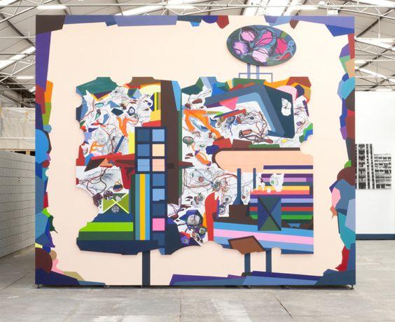 Franz Ackermann  New Ads for São Paulo: Former Ad, 2011  Mixed Media: Mixed media  460 cm x 540 cm