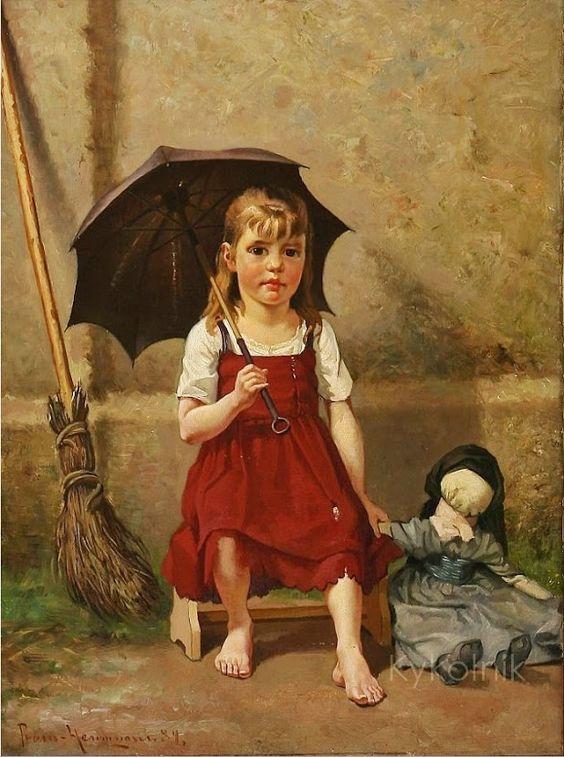 """""""Impressions meer kennis ..."""" - Doll schilderij ... 11:"""