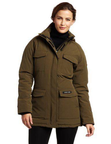 discount canada goose women's constable parka brown
