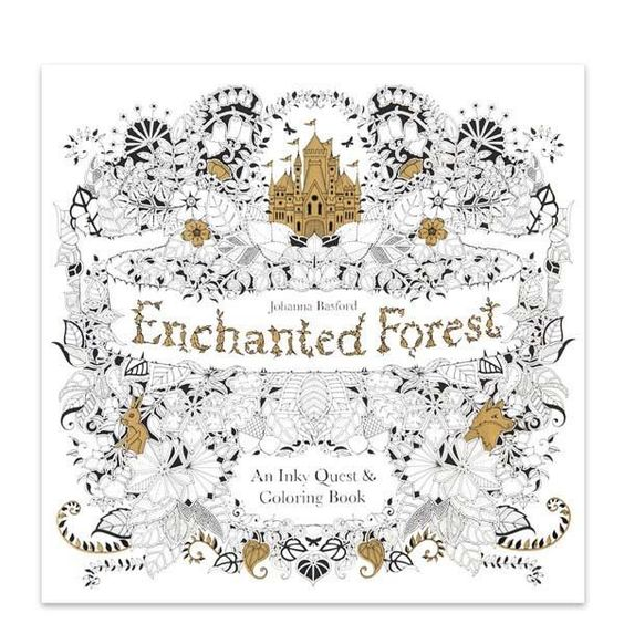 Find Best Value And Selection For Your 14 Pages English Verison Enchanted Forest Antistress Inky Quest Coloring Book Q Search On EBay