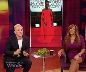 Fashion designer David Meister shares his take on the fashion hits and misses from the Golden Globe Awards.