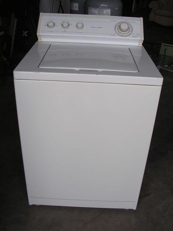 Whirlpool Heavy Duty Extra Large Capacity Plus Washing