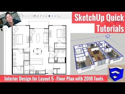 Sketchup Tutorial Clean And Fast Modeling No Sound Youtube
