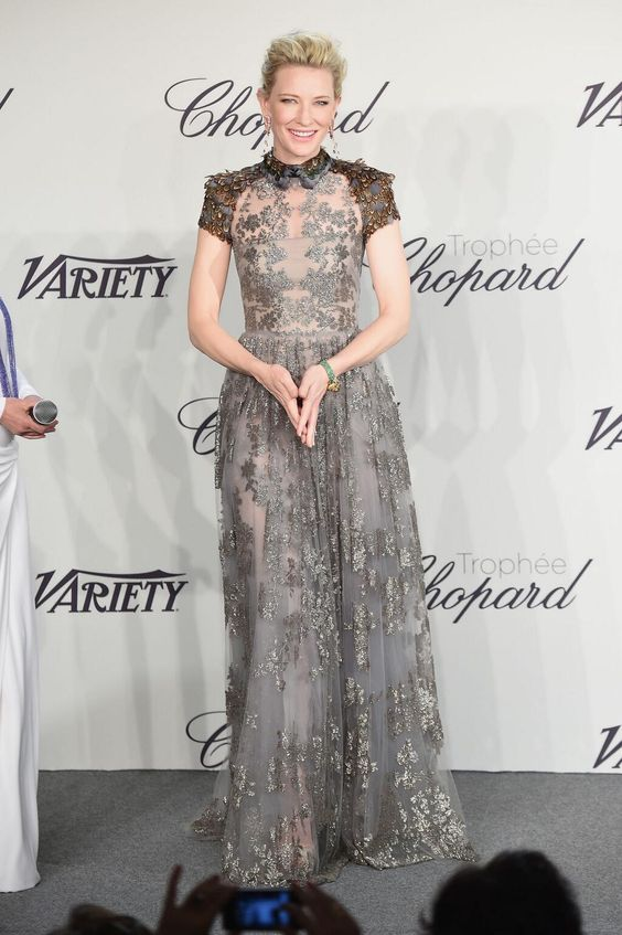 Cate Blanchett stunned at Cannes 2014
