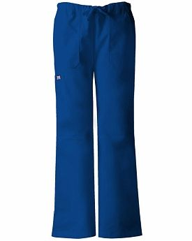 Be bold in blue Cherokee scrub pants for Independence Day!