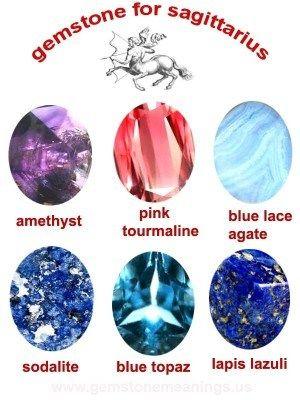 gemstone for sagittarius:
