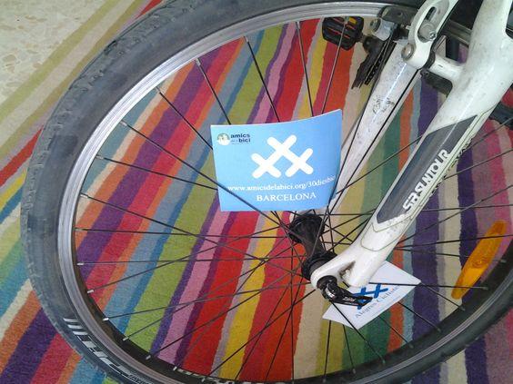 Amics de la Bici-30 dies amb bici