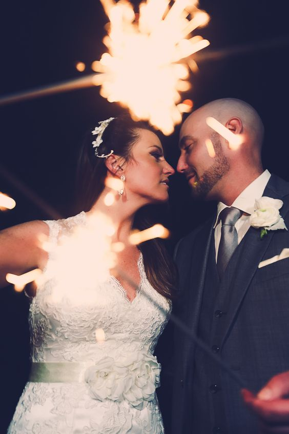 ♥ xoxo. ♥ wedding photography by #littlefangphoto #sparklers #candid #cute #love #fun #cool #poses #ideas