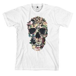 Vintage Skull, tee