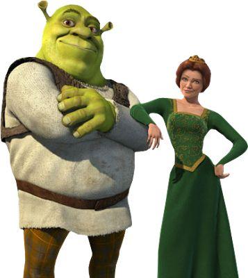 relationship between shrek and fiona