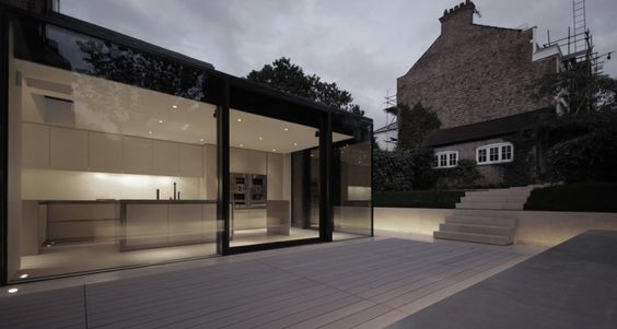 Rear House Extension, Garden Design, by LBMV Architects.