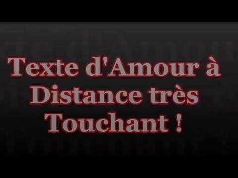 Texte Damour à Distance Touchant Lettredamour