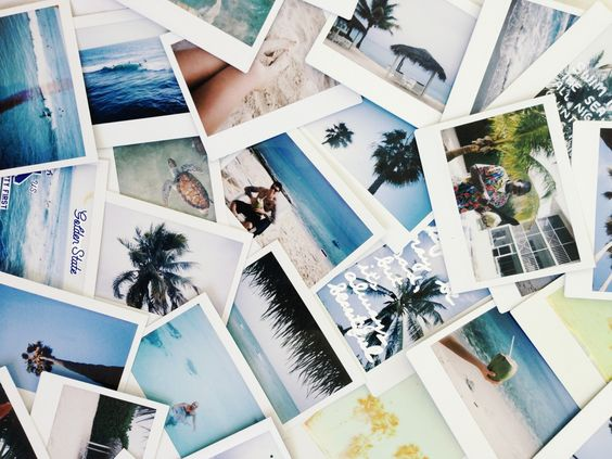 Pinterest: Anisakong Now all that was left was a stack of badly lot Polaroids that sat collecting dust in the draw.: