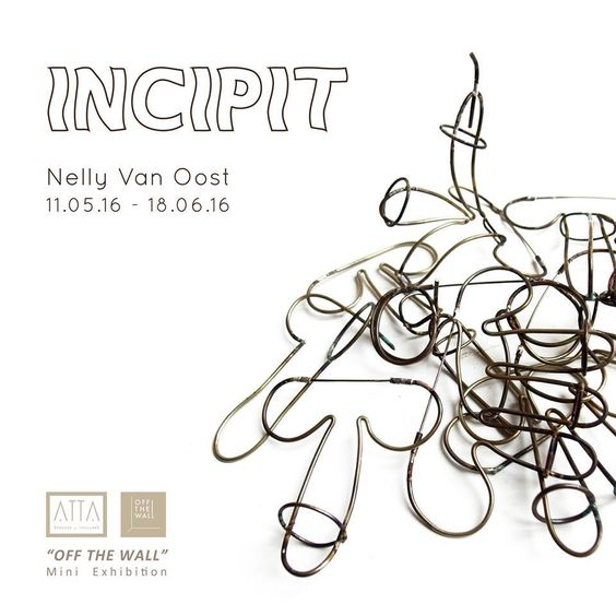 "ATTA Gallery: Exhibition 'Incipit' by Nelly Van Oost (MA 2013) • ATTA Gallery, Bangkok • 11 May - 18 June, 2016.  Nelly Van Oost: www.nellyvanoost.com  Nelly's thesis ""Daily Connections"": http://bit.ly/1NorKKQ  ATTA Gallery: www.attagallery.com:"