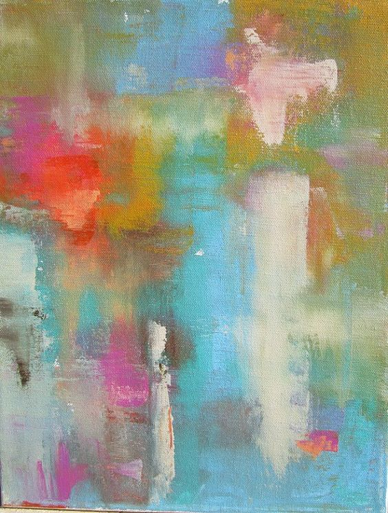 Abstract painting by Linda Donahue on Etsy. Lovely! And she's a nice person, to boot. :)