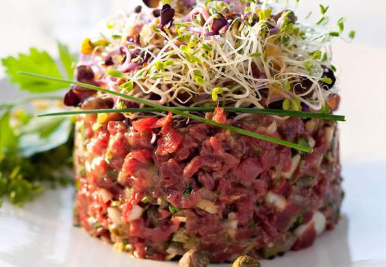 Tartare de bœuf traditionDécouvrez la recette du tartare de bœuf tradition