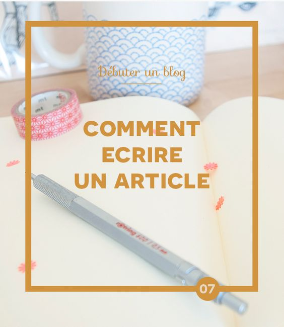 D buter un blog comment crire un article comment blog for Faites vos propres plans libres