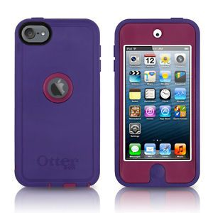 thick ipod 5th generation cases otterbox | OtterBox iPod Touch 5th Generation 5G Defender Case Boom Purple OEM ...