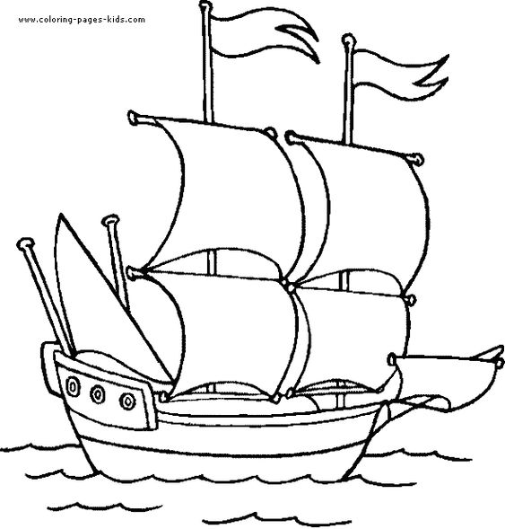 Great site for coloring pages. (ie easy simple shapes for cutting ...