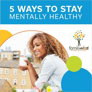 5 things you can do to improve your mental health, from connecting with your community to using aromatherapy!
