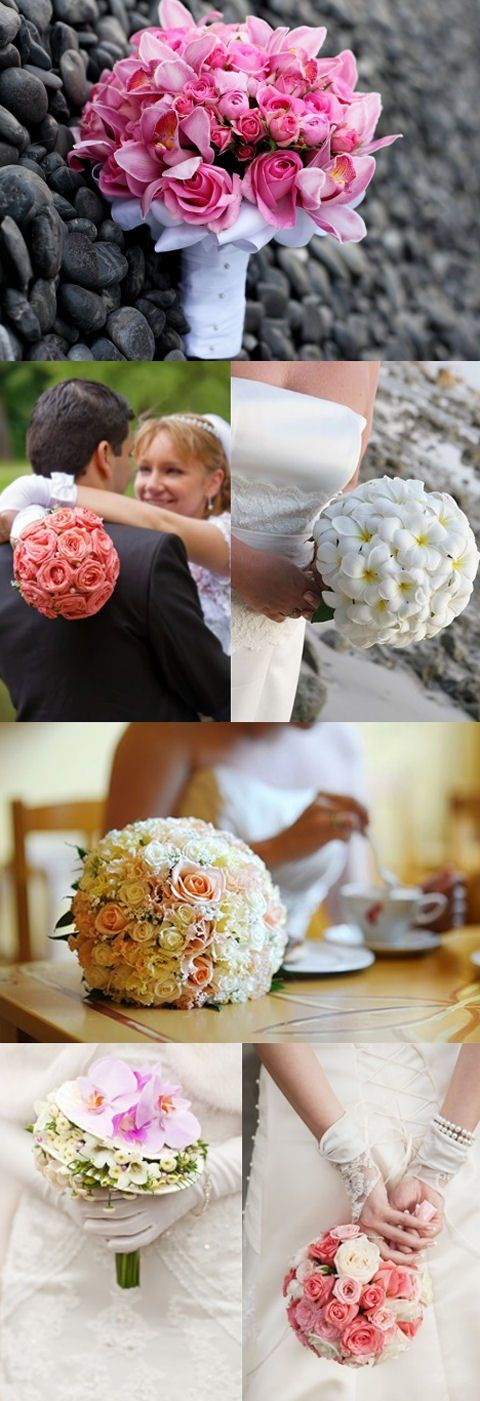 A closer look at posy bouquets #flowers