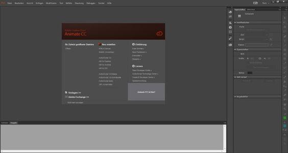 Adobe Animate CC Screenshots