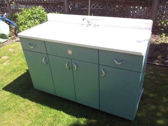 Best Metal Youngstown Kitchen Cabinet Mid Century Mod 400 x 300