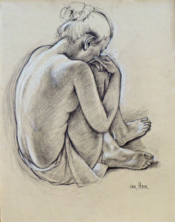 Francine Van Hove – Julia Pense – 65 x 50 cm – 2100 euros