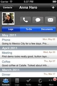 Contacts Journal 3.0 #CRM #mCRM