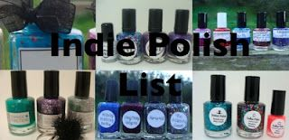 Here is my post, with clickable links for Indie Polish sellers. ♥
