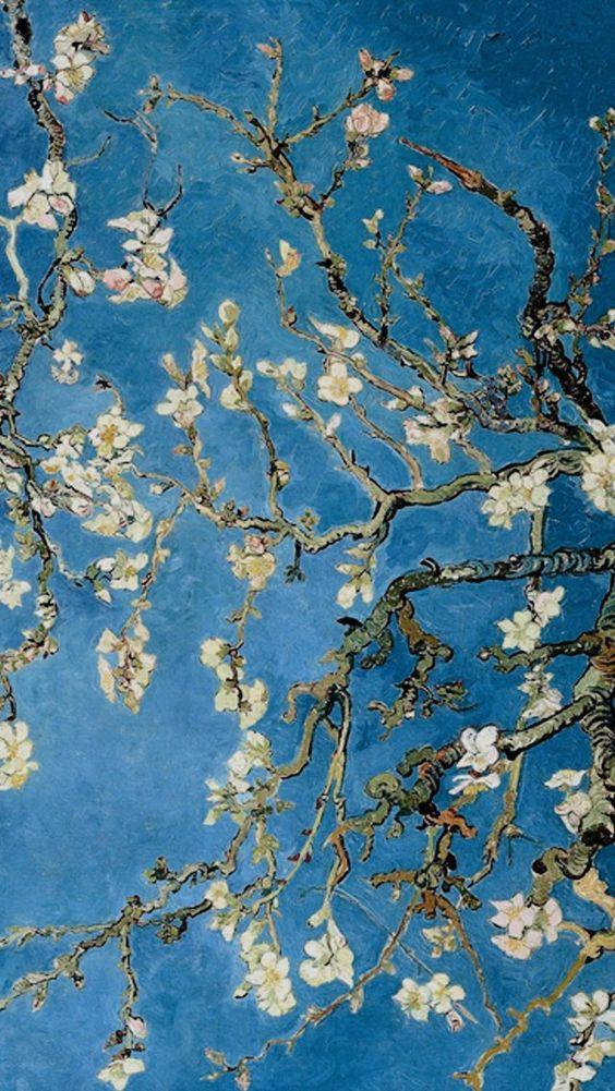 Bts Ot7 Taehyung Jungkook Jimin Namjoon Seokjin Hoseok Yoongi Van Gogh Wallpaper Van Gogh Art