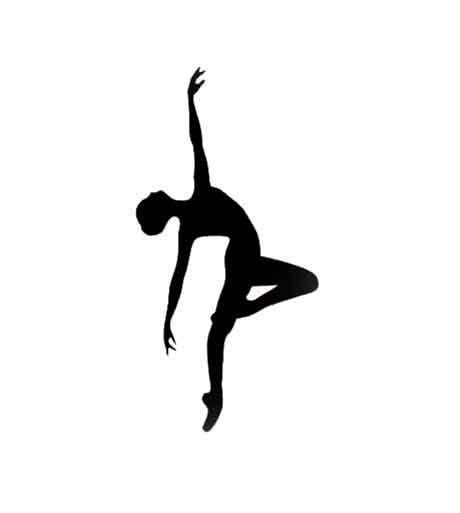 Tiny dancer die cuts black silhouette set by piecesofmepapercraft 4