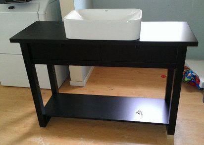 Cómo hacer un mueble para el baño