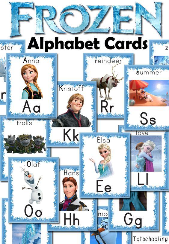 Number Names Worksheets preschool learning printable activities : Activities, Frozen and Alphabet activities on Pinterest