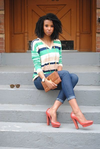 30 Pretty Outfits African Girls Fashion 2015 For Black -9412