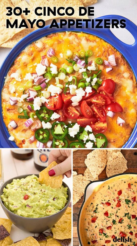 Mexican Appetizers To Kick Off Your Cinco De Mayo