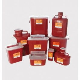 Medical Action Indst Inc. Stackable Sharps Containers  - Price ( MSRP: $ 4.98Your Price: $2.53Save up to 49% ).
