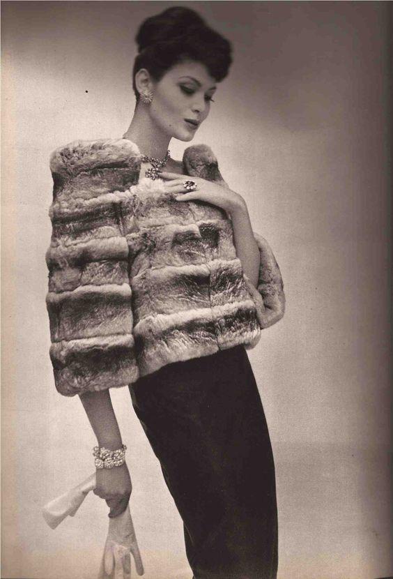 Fur fashion 1958
